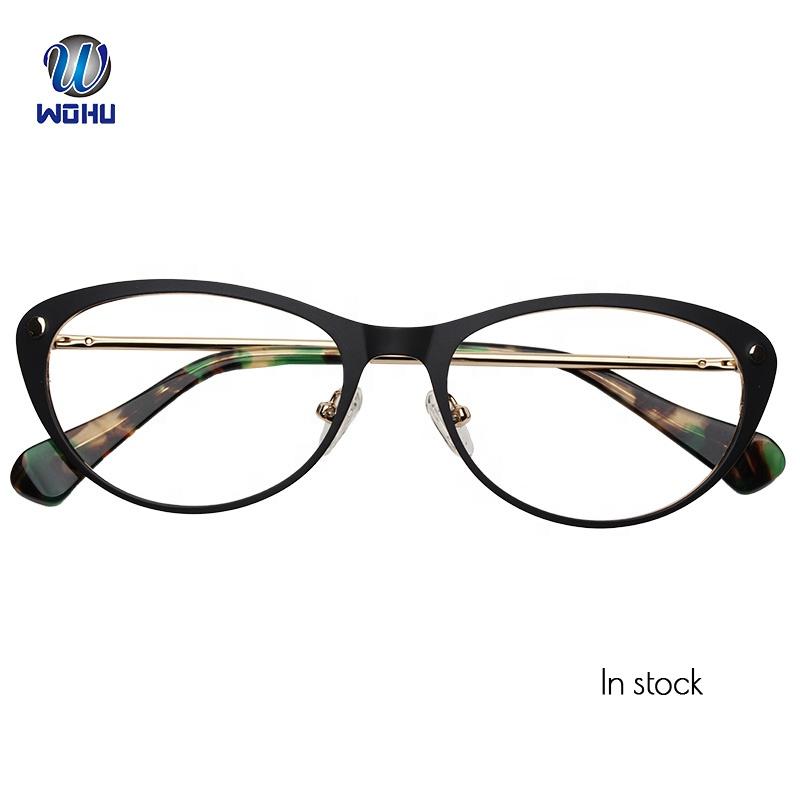 ca75168738a17a Retro Design Mode Stijl Fancy Oval Rvs Metalen Optische Bril Frame Recept  Bril voor Dropshipping