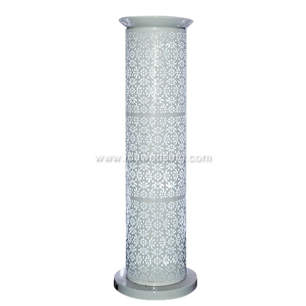 White Pillar Titanium Display Design For Wedding Party Ceremony