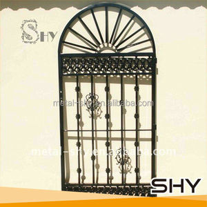 Hand Hammered Wrought Iron Side Gate Designs