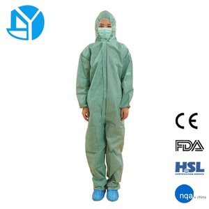 Nonwoven Disposable Protection Garments Workwear Coverall
