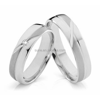Stainless Steel Jewelry Manufacturer Wedding Rings For Sri Lankan