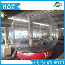 Outdoor Christmas Decoration Inflatable Snow Globe roll inside inflatable ball