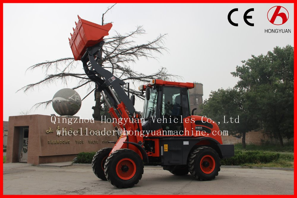 ZL15F mini wheel loader with real CE/TUV.FOPS and ROPS certificate.