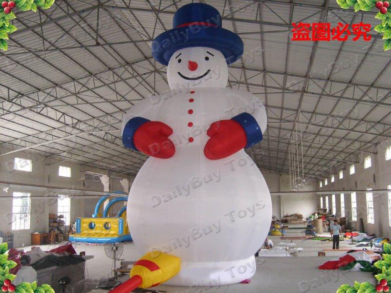 Dad01 8mh 26ft Christmas Inflatable Snow Man Repair Kits