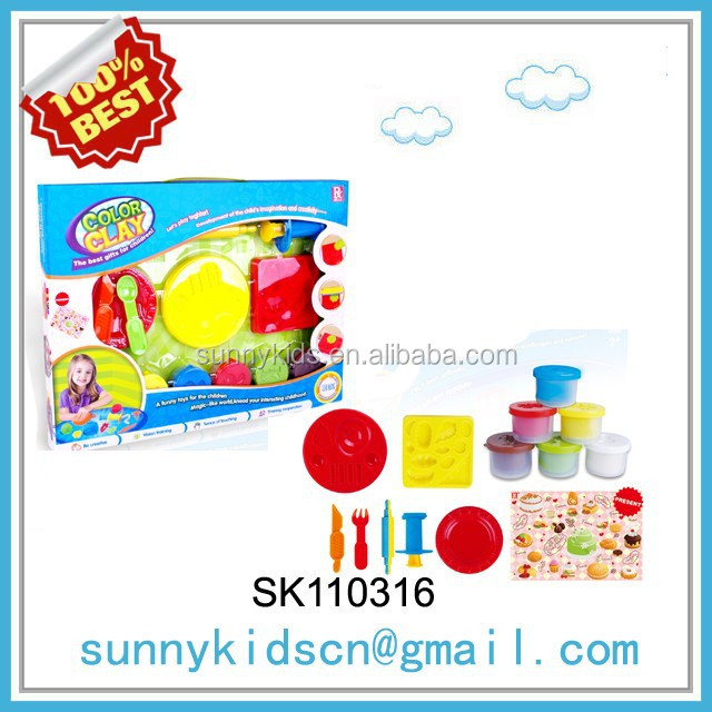 Magic plasticine clay models for kids competition Playdough