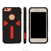 Drop resistance against bending three anti-armor protective case for iphone 5 6 Warrior cover