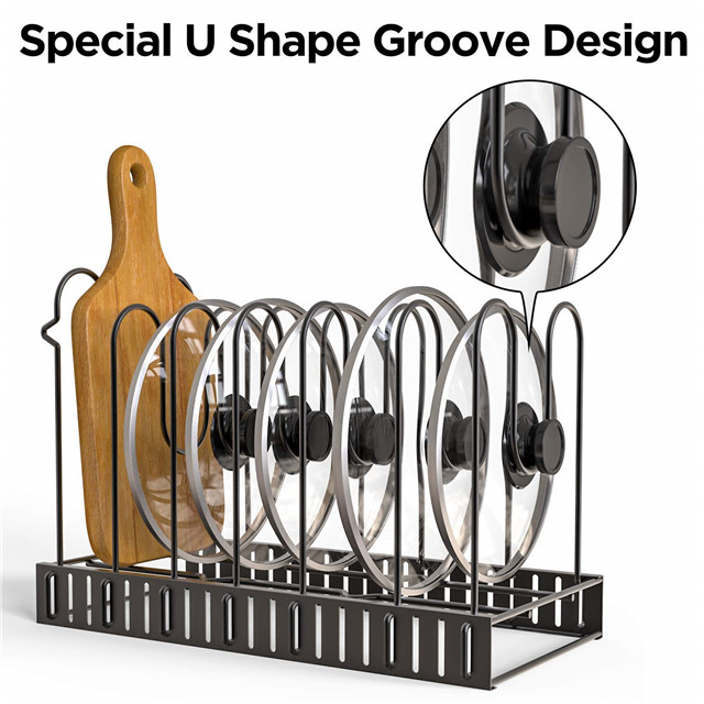 Kitchen  Adjustable  Pot  Holder Pan & Pot Rack Organizer