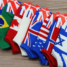 2014 new HOT Cotton classic brand man socks Flag sports socks Basketball socks meias men's socks spring calcetines