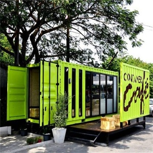 2018 factory direct sales luxury expandable 40ft container house for living