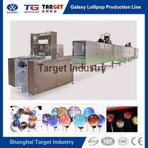 Customized Different Pattern Planet Lollipop Making Line