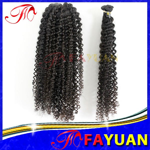 Natural Color 100% Indian Humanhair Extensions & Hair Weft