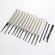 Hot sale Spring steel goso 12 pcs Hook Lock Pick Set Locksmith tool