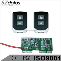 4 Channel DC 12V RF Wireless Remote Control Switch receiver+transmitter