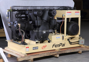 high pressure water cooled air compressor