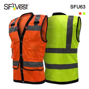 a0b31af56718 Al por mayor ropa de seguridad chaleco reflectante de alta visibilidad para  los hombres ropa de
