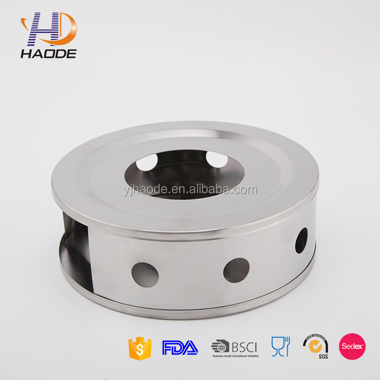 High Quality Stainless steel warmer with candle