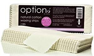 Hive Of Beauty 100pcs Natural Cotton WAXING STRIPS Leg Bikini Cotton Wax CODE: #HOB5530 by Hive Of beauty
