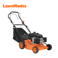 LawnMaster 2019 new hot sale 46cm cutting diameter self-propell best green rotary petrol gas lawn mower- TZ46SB-139
