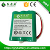 wholesale factory price AA 1500mah 3.6v ni-mh rechargeable battery pack