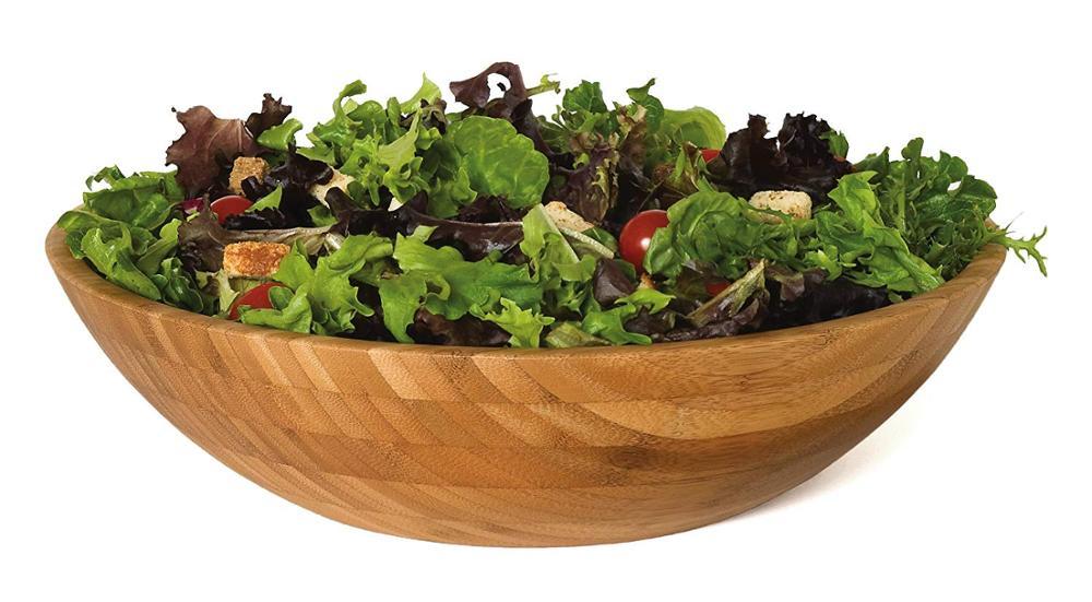 Bamboo Salad Bowl For Hot Selling Bowl Salad Wooden Salad Bowl 3