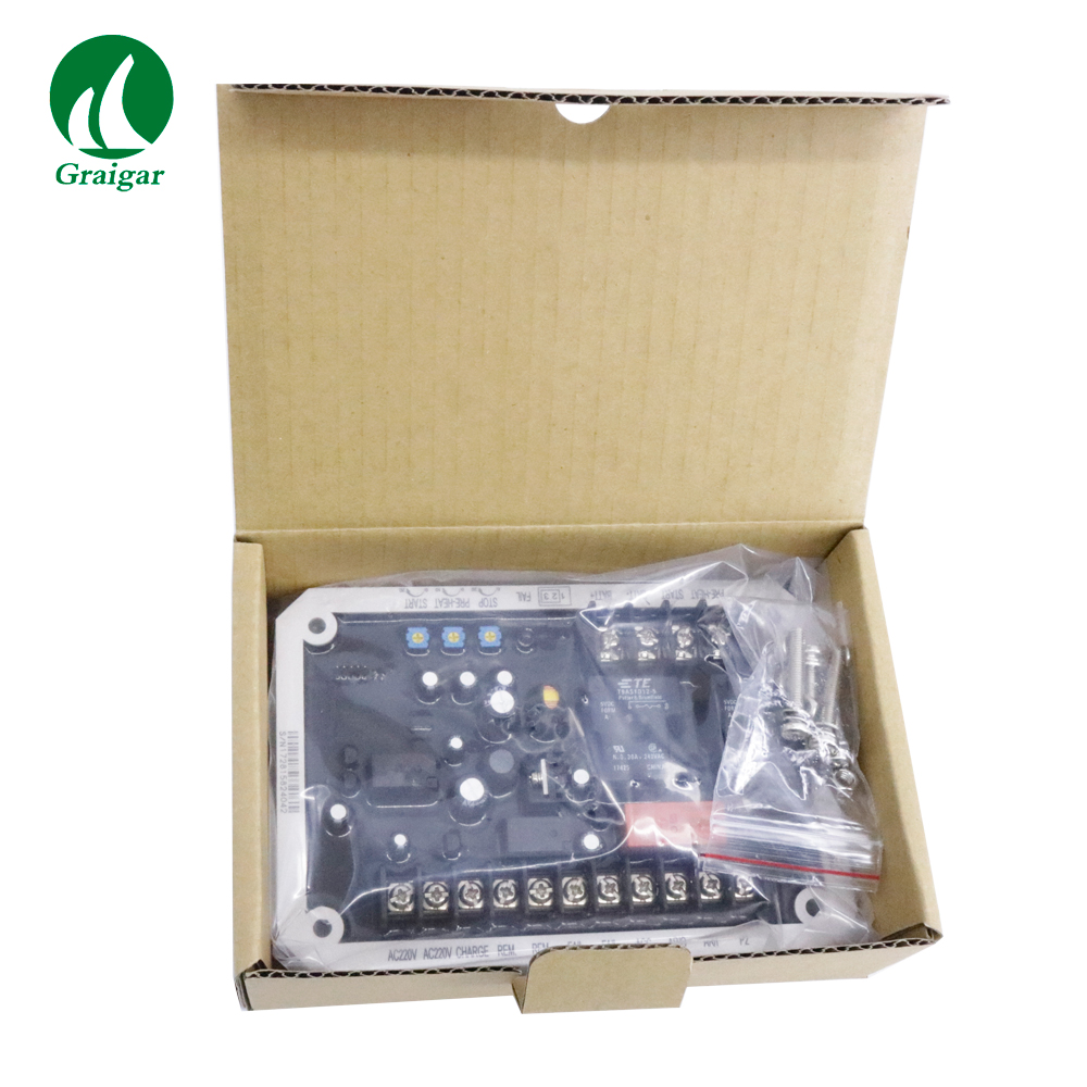 Original KUTAI EC-02 Auto Start Control Unit for DENYO Generator Works with both 12V and 24V Generators