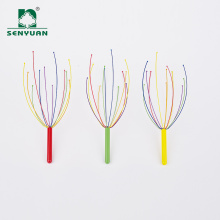 Popular Cheap Colorful Mini Portable Head Massager Tools