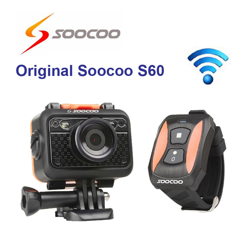 Original SOOCOO S60 1080P Sports Action Video Camera Waterproof 60m WiFi  GoPro