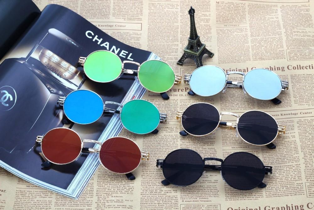 Vintage Steampunk Spiegel Runde Retro Sonnenbrille Frauen Klassische Marke Uv400 Herren Sonnenbrille Gafas De Sol 3128 Buy Runde Retro