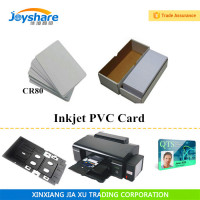 blank plastic inkjet printable pvc id cards for epson l800 printer 2300pcs/lot
