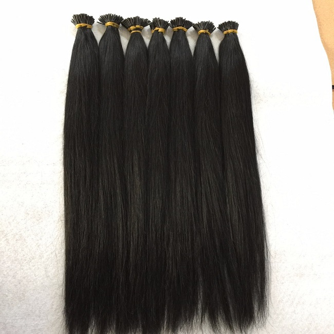 Factory wholesale high quality full cuticle vietnam human i tip <strong>hair</strong>