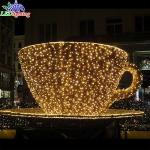 giant led christmas ball lighting 3D motif light Street decoration led light outdoor decoration