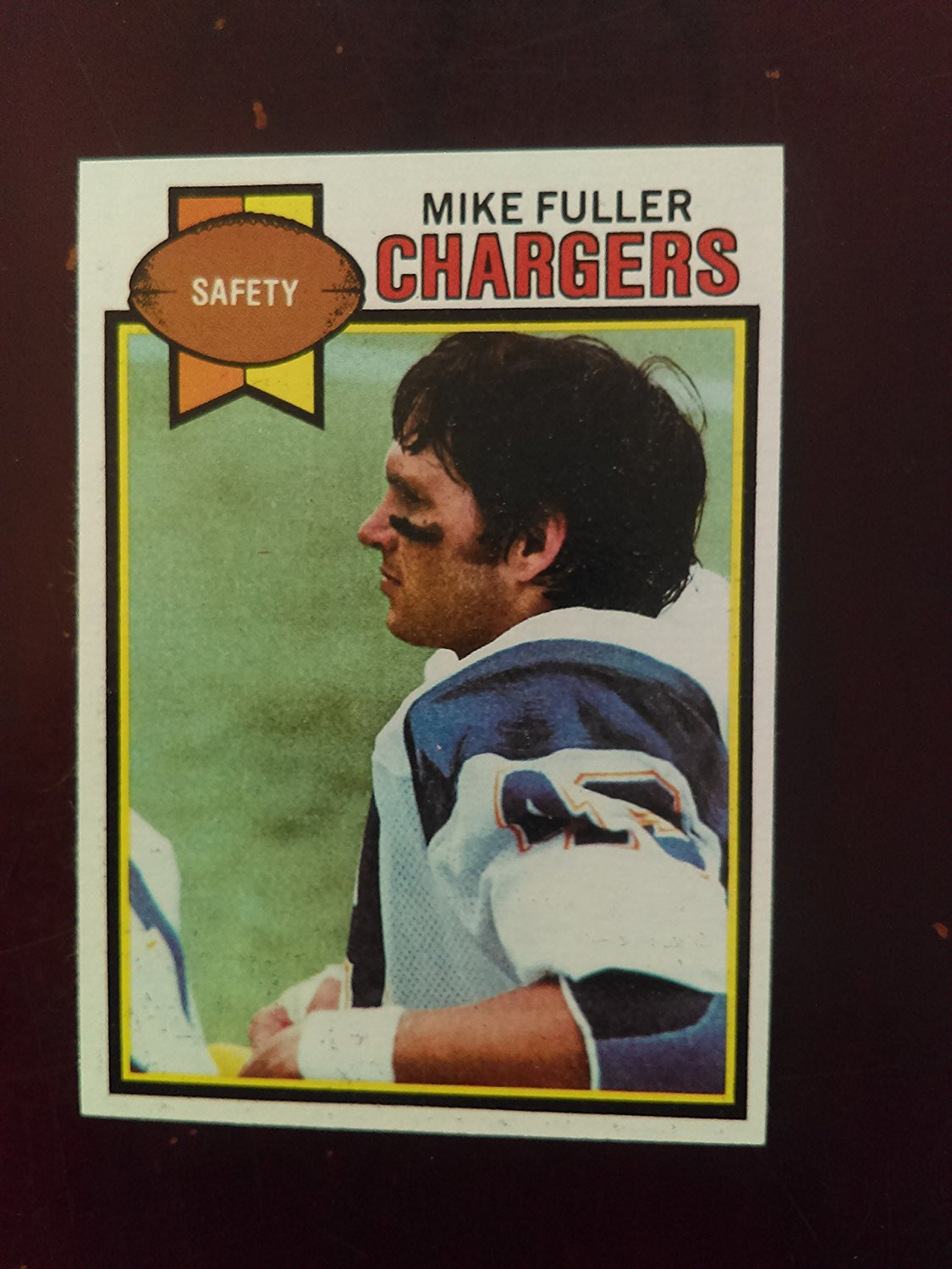 Mike Fuller (Football Card) 1979 Topps #254 - San Diego Chargers / Auburn Tigers
