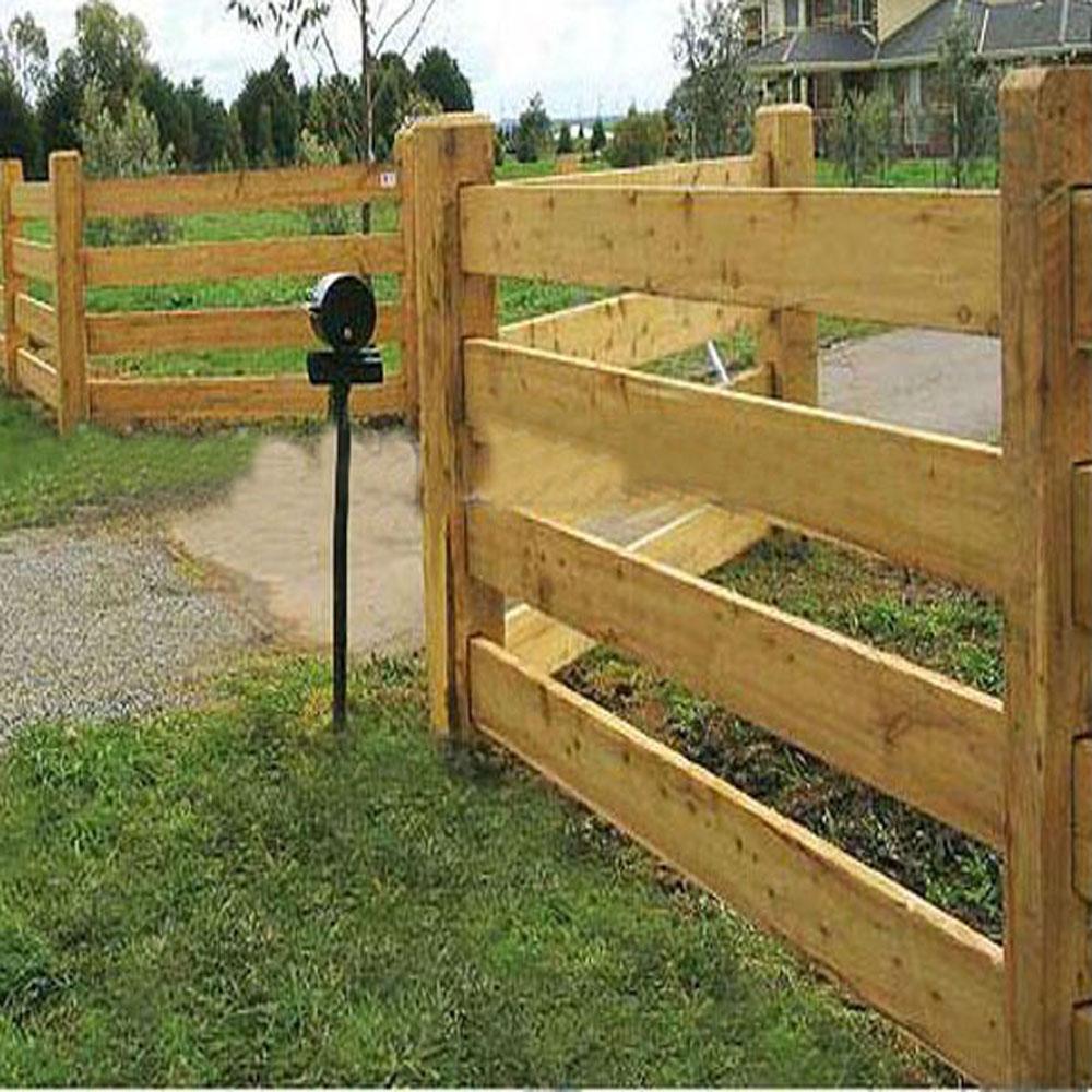 Pa ses europeos y cercas de madera estilo americano - Cercas de madera ...