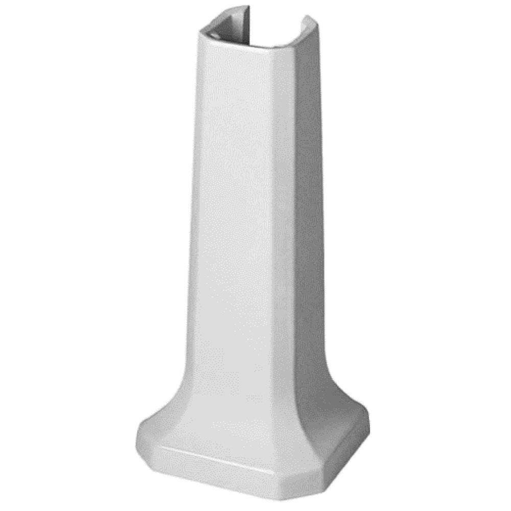Duravit 0857900000 1930 Series Sink Pedestal, White Finish