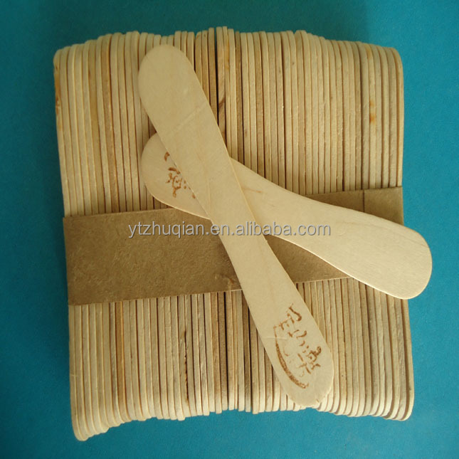 Wooden Ice Cream Craft Sticks,Custom Popsicle Sticks Paddle Pop Spoon