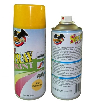 acrylic aerosol colorful spray paint high quality
