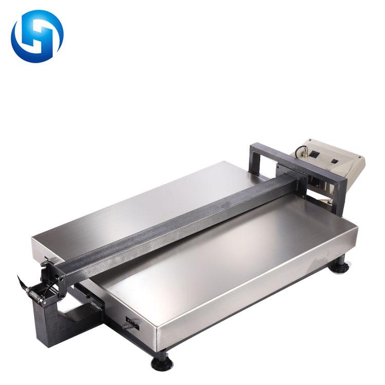 TCS-800kg in acciaio al carbonio di pesatura elettronica scala digitale bilancia a piattaforma