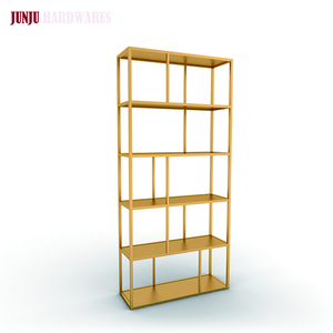 High quality antique chinese shelf stainless steel metal bookcases
