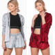 velvet jackets Velour Short And Hoodie Jackets Set, wholesale designer clothing