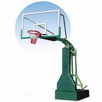FIBA standard adjustable movable basketball stand