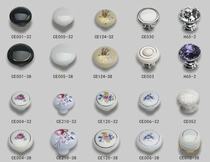 Recién llegado de cerámica Dormitorio Muebles Manijas y perillas del ...