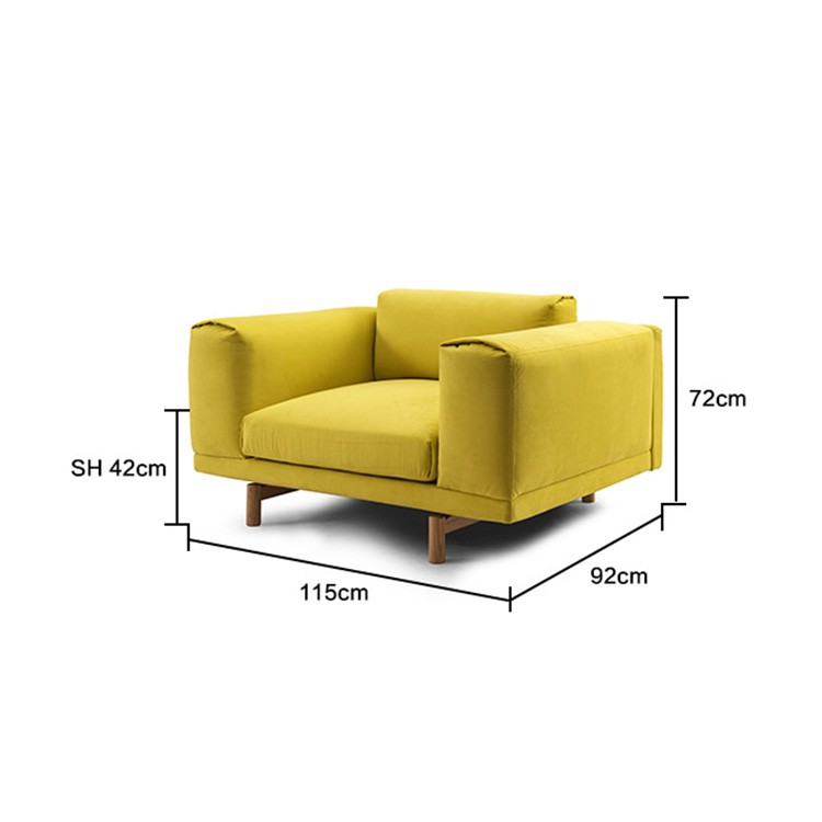 Top quality furniture living room sofa set modern couch Quality modern couches