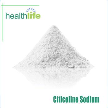 GMP factory 99% CDP-Choline Citicholine Sodium powder