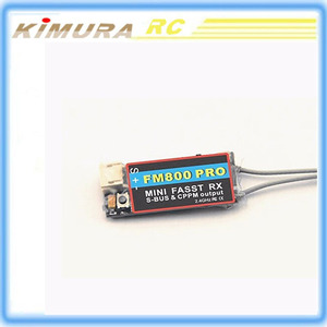 Futaba Fasst FM800 PRO 2.4G 8CH Mini transmitter Receiver For RC Helicopter Parts