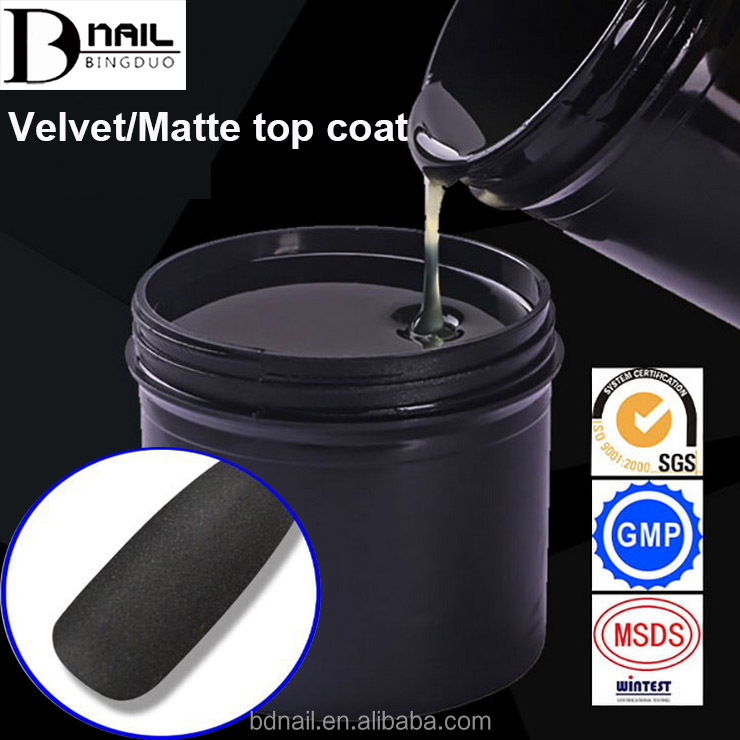 2017 New arrive Matt Matte Top Coat UV LED Nail Gel Polish Top Coat Frosted Surface