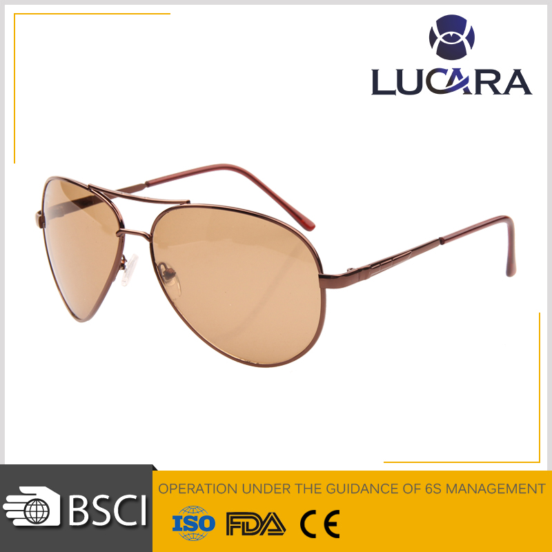 high quality Fashion men aviator sunglasses UV400 DLS 9115