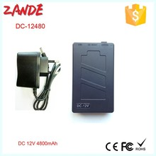 Factory supply Portable DC 12v 4800mah small Li-ion Rechargeable Battery Pack with high quality