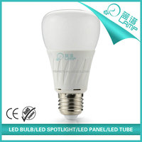 220V A19 led light bulb,e27 led lamp bulb with mushroom cover,8w energy saving lamp cfl replace