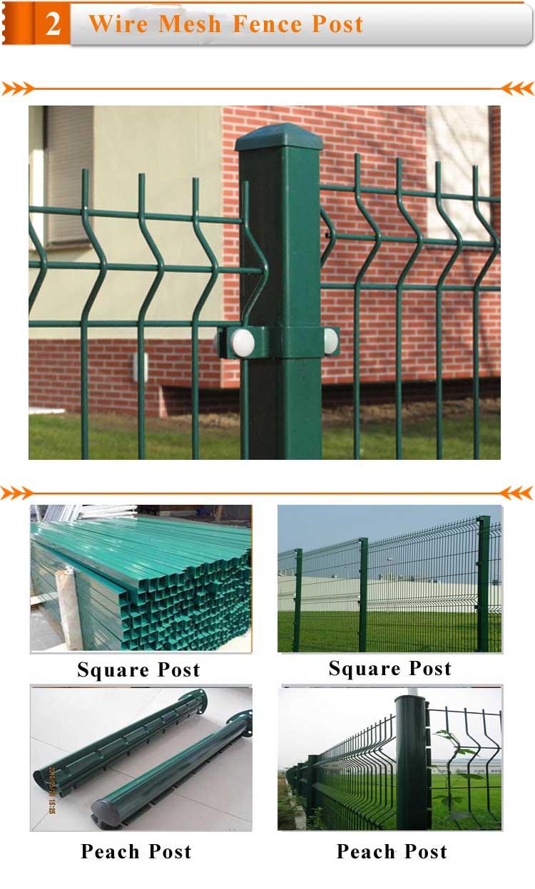Umweltfreundliche Dekorative Pvc Beschichtet Baustahlmatten Zaun ...