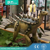 Indoor Attraction Dinosaur Sculpture For Decoration